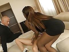 FFM porno gratis - figa nera ebano