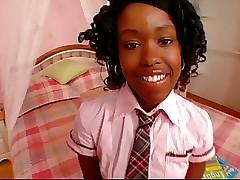 Schoolmeisje gratis porno - ebony amateursex
