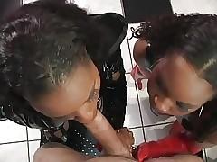 FFM free porn - black ebony pussy