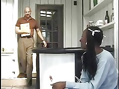 Porno gratuito della ragazza della scuola - sesso amatoriale dell'ebano